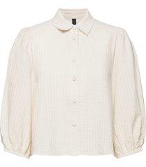 yasswati a-line shirt - icon s. långärmad skjorta vit yas
