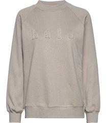 kajo college sweat-shirt trui beige hálo