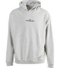 grey hoodie jumper