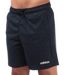 mens essentials plain single jersey shorts