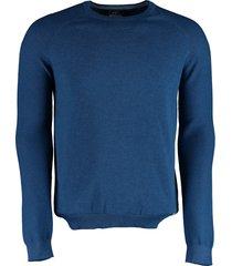 born with appetite scott - pullover structure sl 21105sc20/240 blue
