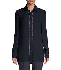 silk goergette chiffon blouse