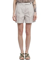 massimo alba grey sardina shorts