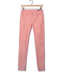 pantalón color siete para mujer