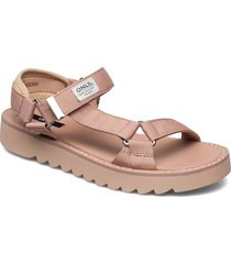 onlmalu-5 chunky wrap sandal shoes summer shoes flat sandals rosa only