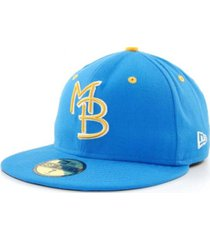 new era myrtle beach pelicans milb 59fifty cap