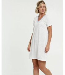 camisola estampa bolinhas marisa - 10037902612 feminina