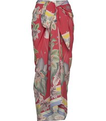 beach sarong beach wear rood by malina