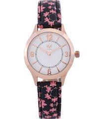 reloj negro-rosa-dorado versace 19.69
