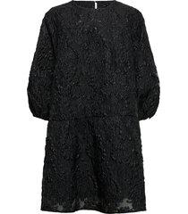 alise millow dress kort klänning svart bruuns bazaar