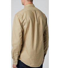 polo ralph lauren men's slim fit garment dyed oxford shirt - surrey tan - xxl