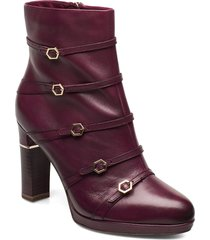 woms boots shoes boots ankle boots ankle boot - heel lila tamaris heart & sole