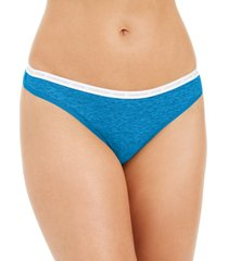calvin klein ck one cotton singles thong underwear qd3783