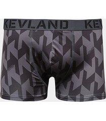 cueca boxer kevland black crew