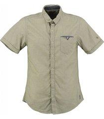 garcia slim fit overhemd olive
