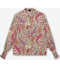 alix the label 2106915033 woven floral blouse.