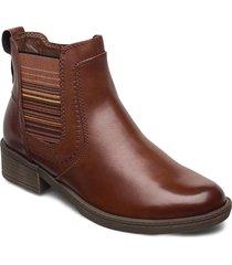 woms boots känga stövel brun tamaris