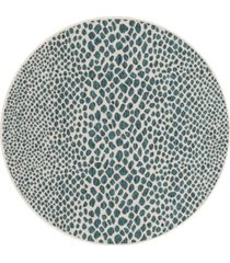 jill zarin outdoor cape town 4' x 4' round area rug