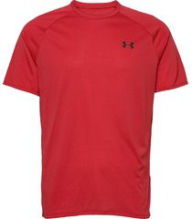 ua tech 2.0 ss tee novelty t-shirts short-sleeved röd under armour