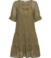 nualzbet ss dress jurk knielengte groen nümph