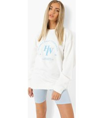 beverly hills health club sweater, ecru