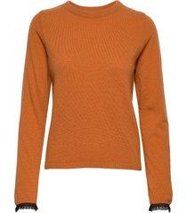 rosso stickad tröja orange stig p