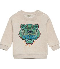 tiger bb 3 sweat-shirt trui beige kenzo