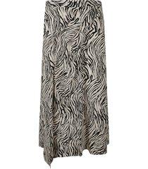 isabel marant mid-length printed skirt
