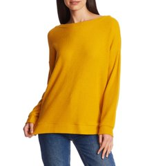 1.state cozy cross-back top