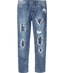 jeans, normal passform, avsmalnande ben