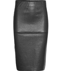floridia knälång kjol svart by malene birger