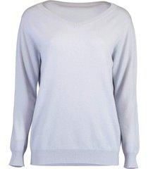 artic cashmere monili v-neck sweater