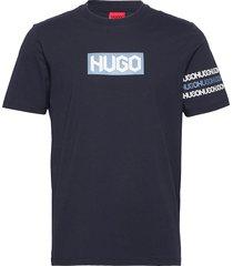 dake t-shirts short-sleeved blå hugo