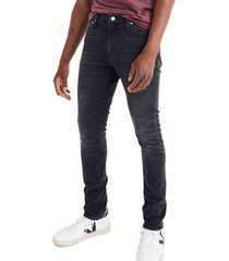 men's madewell skinny jeans, size 33 x 30 - blue