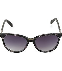 55mm gradient cat eye sunglasses