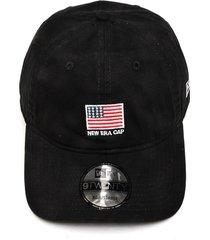 bonã© new era strapback mini flag preto - preto - masculino - dafiti