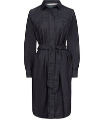 oilily diablo jurk denim- blauw