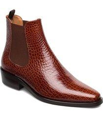 boots stövletter chelsea boot brun billi bi