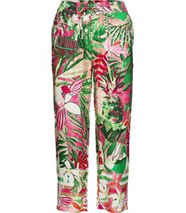 crop leisure trouser vida byxor rosa gerry weber edition