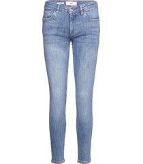 kim skinny jeans blå mango