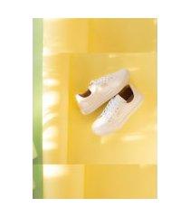 tênis branco feminino sapatenis confortável zoccolette premium branco