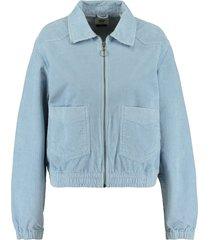 america today trucker jacket hailey blauw