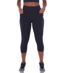 calça corsário sandy fitness athletic nero