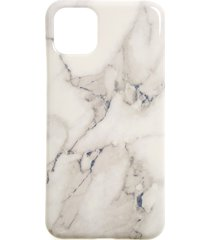 recover white marble iphone 11, 11 pro & 11 pro max case -