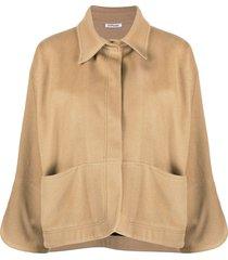 parlor lightweight fine knit jacket - neutrals