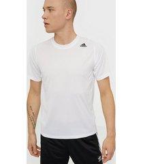 adidas sport performance fl_spr z ft 3st tränings t-shirts vit
