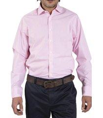camisa algodón wfmodern rosa rockford