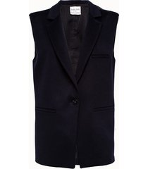 forte forte gilet lungo in lana