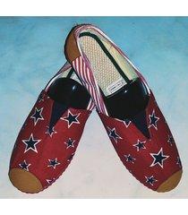 zapatillas boweipeiqi con estrellas negras