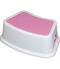 banquinho degrau infantil crescidinhos rosa baby style